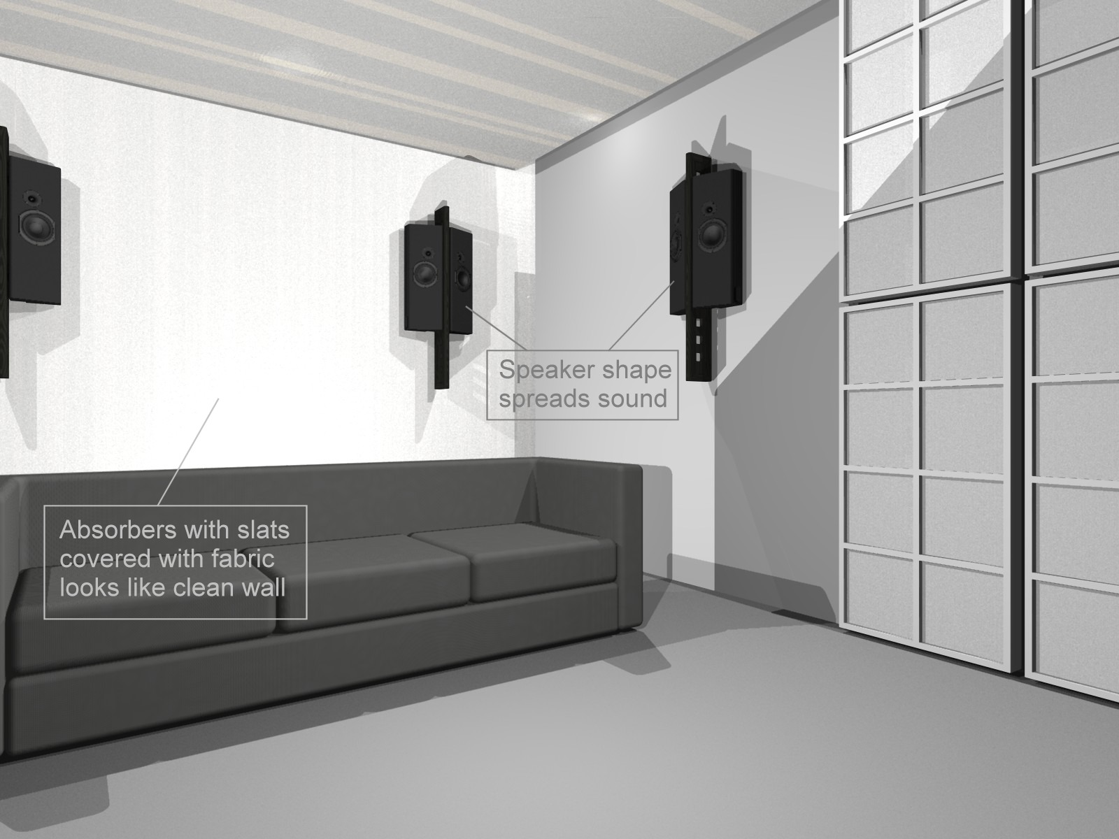 How to set up a home-theater sound system